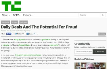 http://techcrunch.com/2011/06/21/daily-deals-fraud/