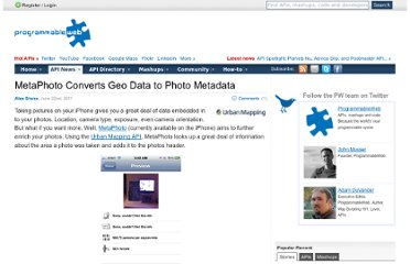http://blog.programmableweb.com/2011/06/22/metaphoto-supercharges-your-photo-metadata/