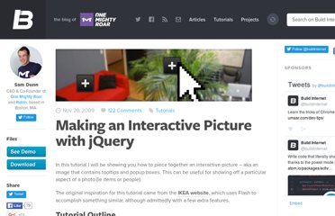 http://buildinternet.com/2009/11/making-an-interactive-picture-with-jquery/