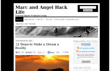 http://www.marcandangel.com/2011/03/21/12-steps-to-make-a-dream-a-reality/