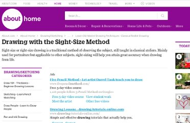 http://drawsketch.about.com/od/sightsizemethod/Drawing_with_the_SightSize_Method.htm