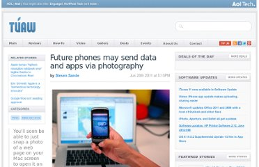 http://www.tuaw.com/2011/06/20/future-phones-may-send-data-and-apps-via-photography/