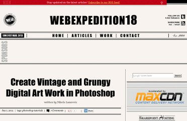 http://webexpedition18.com/work/create-vintage-and-grungy-digital-art-work-in-photoshop/