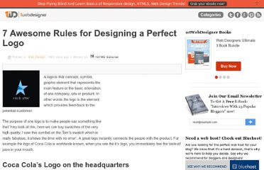 http://www.1stwebdesigner.com/design/awesome-rules-designing-perfect-logo/
