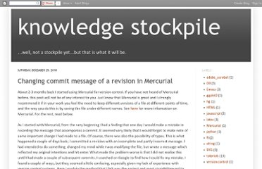 http://knowledgestockpile.blogspot.com/2010/12/changing-commit-message-of-revision-in.html