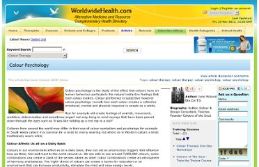 http://www.worldwidehealth.com/health-article-Colour-Psychology.html