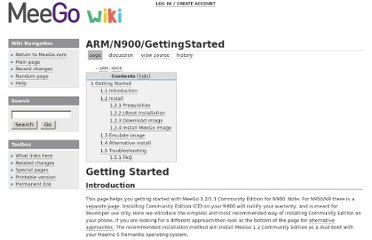 http://wiki.meego.com/ARM/N900/GettingStarted