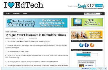 http://blog.simplek12.com/education/17-signs-your-classroom-is-behind-the-times/