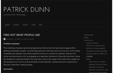 http://patrickdunn.squarespace.com/find-what-people-like-x/