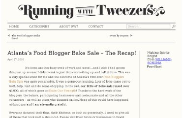 http://www.runningwithtweezers.com/blogger-bake-sale/