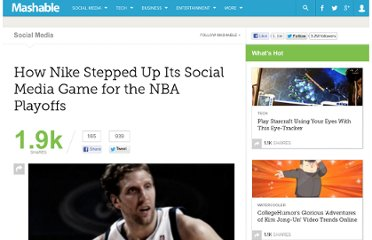 http://mashable.com/2011/06/13/nike-social-media-nba-playoffs/