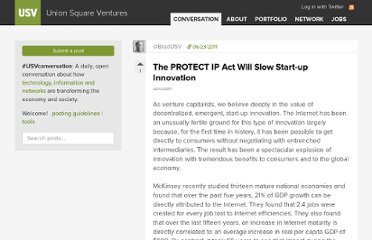 http://www.usv.com/2011/06/the-protect-ip-act-will-slow-start-up-innovation.php