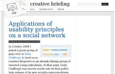 http://creativebriefing.com/applications-of-usability-principles-on-a-social-network/