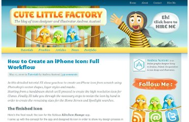http://www.cutelittlefactory.com/tutorials/how-to-create-an-iphone-icon-full-workflow/