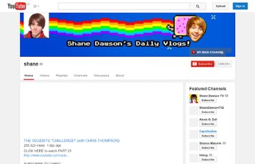 http://www.youtube.com/user/shane