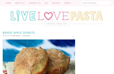 http://www.livelovepasta.com/2011/04/baked-apple-donuts/