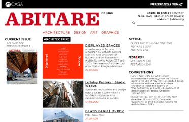 http://www.abitare.it/en/category/architecture/