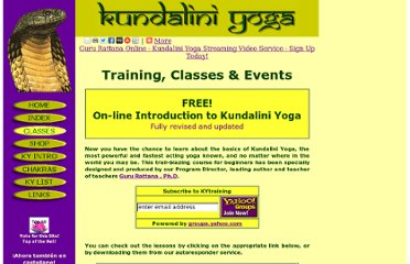 http://www.kundaliniyoga.org/classes.html