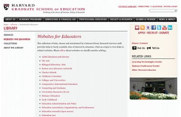 http://www.gse.harvard.edu/library/educator_resources.html#media