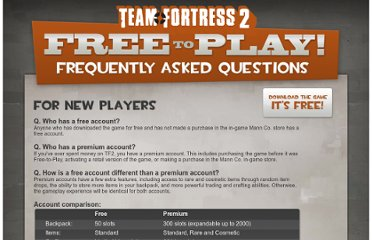 http://www.teamfortress.com/freetoplay/faq.php