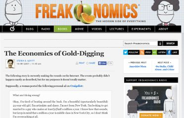 http://www.freakonomics.com/2007/10/09/the-economics-of-gold-digging/