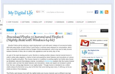 http://www.mydigitallife.info/download-firefox-5-aurora-and-firefox-6-nightly-build-with-windows-64-bit/