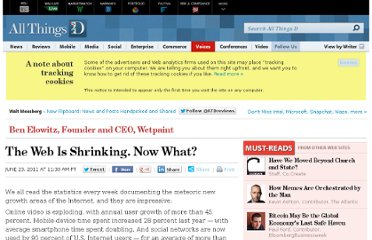 http://allthingsd.com/20110623/the-web-is-shrinking-now-what/