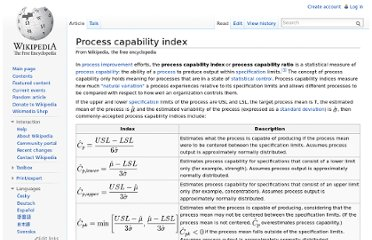 http://en.wikipedia.org/wiki/Process_capability_index