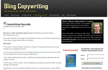http://blingcopywriting.com/copywriting-specials/