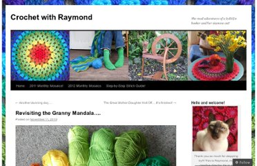 http://crochethealingandraymond.wordpress.com/2010/11/11/revisiting-the-granny-mandala/