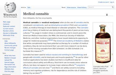 http://en.wikipedia.org/wiki/Medical_cannabis