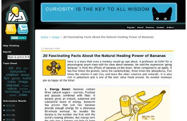 http://www.thethinkingblog.com/2008/02/20-fascinating-facts-about-natural.html