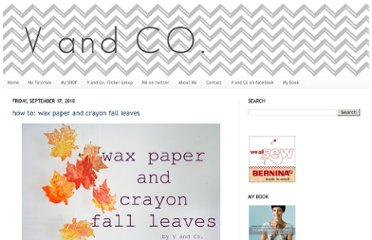 http://www.vanessachristenson.com/2010/09/how-to-wax-paper-and-crayon-fall-leaves.html