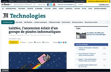 http://www.lemonde.fr/technologies/article/2011/06/24/lulzsec-l-ascension-eclair-d-un-groupe-de-pirates-informatiques_1540672_651865.html#ens_id=1529107
