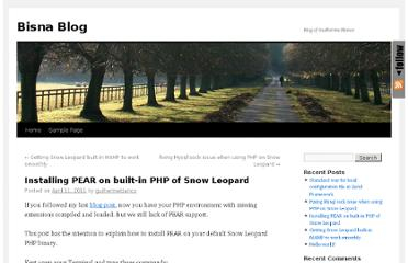 http://blog.bisna.com/2011/04/installing-pear-on-builtin-php-of-snow-leopard/