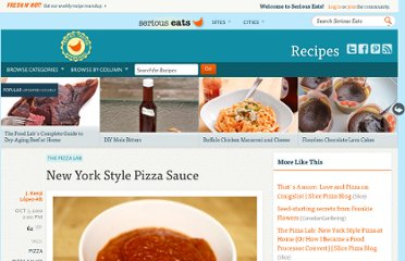 http://www.seriouseats.com/recipes/2010/10/new-york-style-pizza-sauce.html