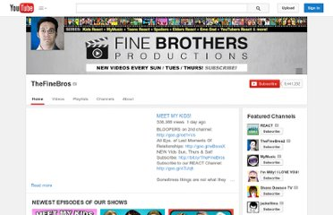http://www.youtube.com/user/TheFineBros