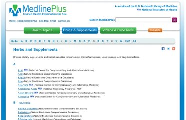 http://www.nlm.nih.gov/medlineplus/druginfo/herb_All.html