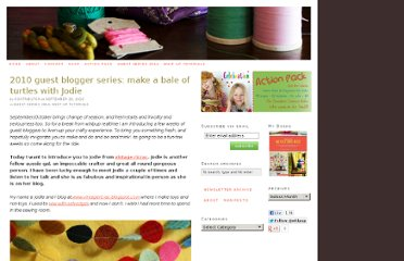 http://whipup.net/2010/09/29/2010-guest-blogger-series-make-a-bale-of-turtles-with-jodie/