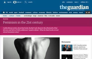 http://www.guardian.co.uk/books/2011/jun/24/feminism-21st-century-zoe-williams