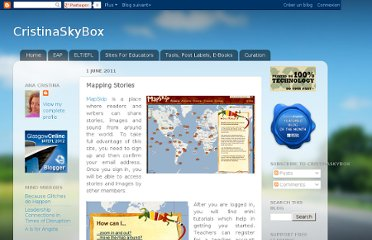 http://cristinaskybox.blogspot.com/2011/06/mapping-stories.html
