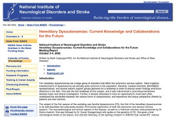http://www.ninds.nih.gov/news_and_events/proceedings/heriditary_dysautonomia_2002.htm