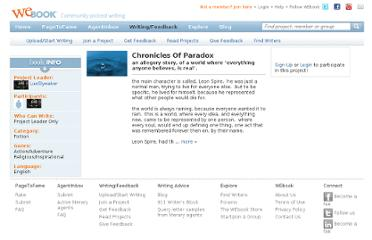 http://www.webook.com/project/Chronicles-Of-Paradox