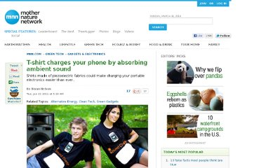 http://www.mnn.com/green-tech/gadgets-electronics/stories/t-shirt-charges-your-phone-by-absorbing-ambient-sound