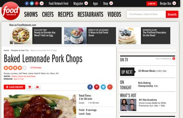 http://www.foodnetwork.com/recipes/baked-lemonade-pork-chops-recipe/index.html