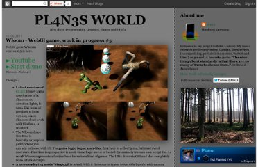 http://pl4n3.blogspot.com/2011/06/wloom-webgl-game-work-in-progress-5.html