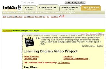 http://www.englishclub.com/learning-english-video/index.htm