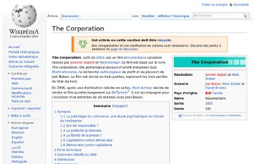 http://fr.wikipedia.org/wiki/The_Corporation