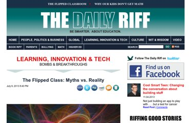 http://www.thedailyriff.com/articles/the-flipped-class-conversation-689.php