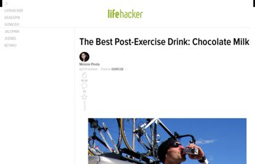 http://lifehacker.com/5815625/the-best-post+exercise-drink-chocolate-milk